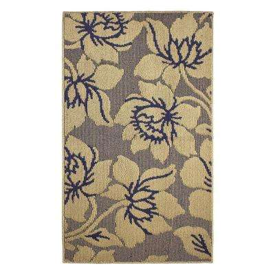 Kimmy Blue Lagoon 2 ft. x 4 ft. Area Rug