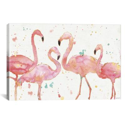 Flamingo Fever I by Anne Tavoletti Wall Art