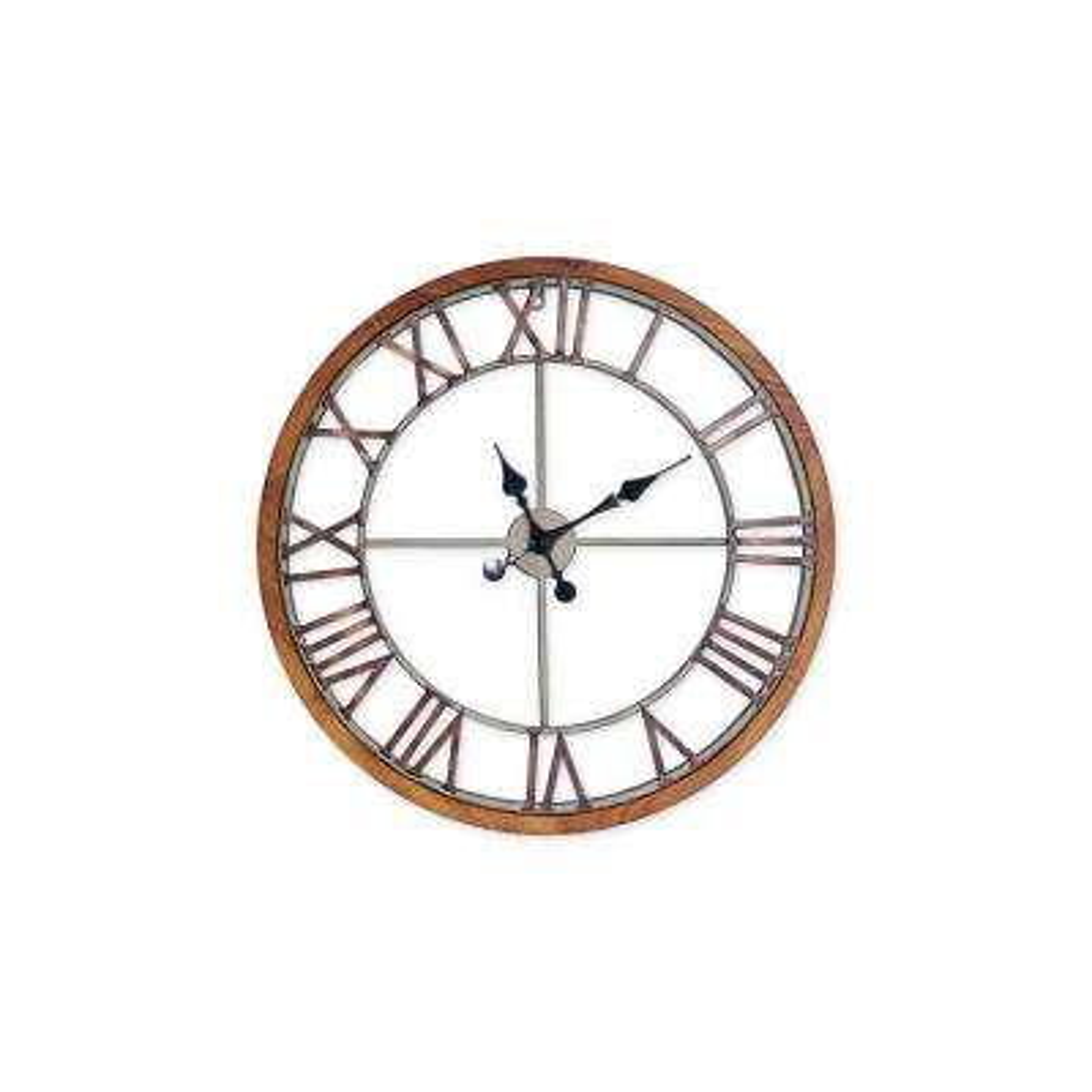 Annalise 24in Metal Wall Clock