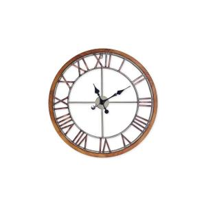 Annalise 24in Metal Wall Clock
