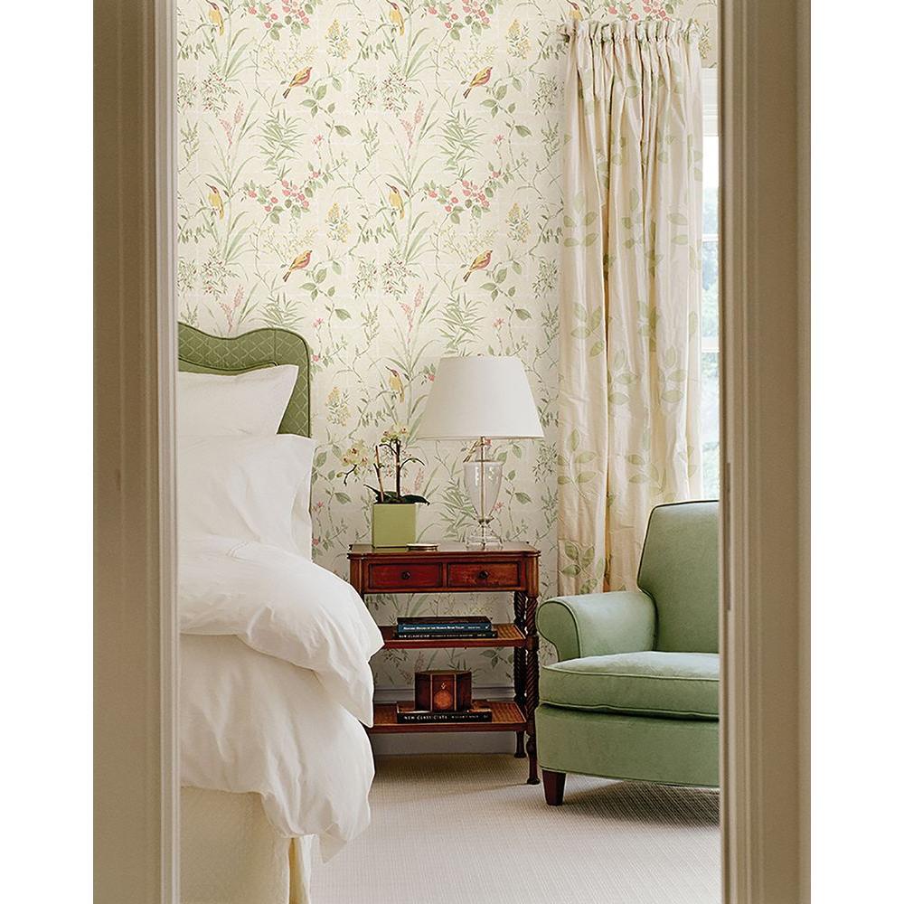 Beacon House Imperial Cream Garden Chinoiserie Wallpaper 2669