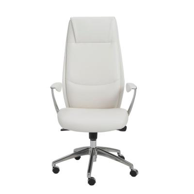 Crosby White High Back Office Chair