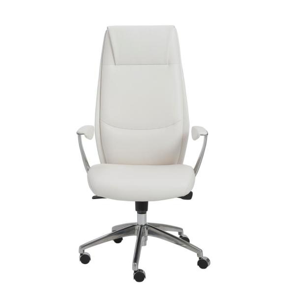 Eurostyle Crosby White High Back Office Chair 00472WHT