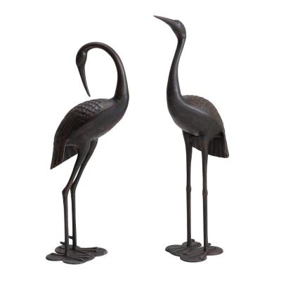 Osborne Bronze Color Garden Crane Set
