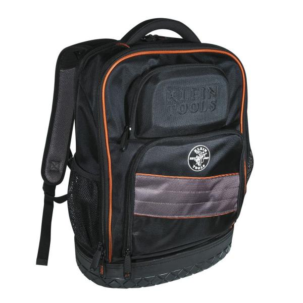 14 in. Tradesman Pro Organizer Technician's Jobsite Backpack with Toughbook Laptop Pocket