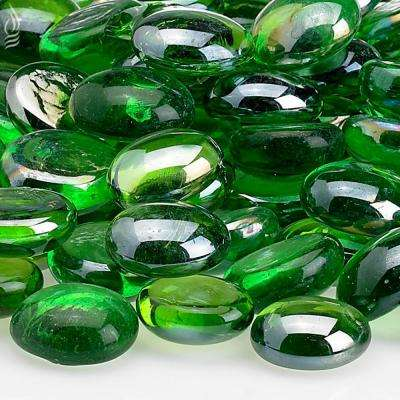 Emerald Green Luster Firebeads 10 lbs. Bag