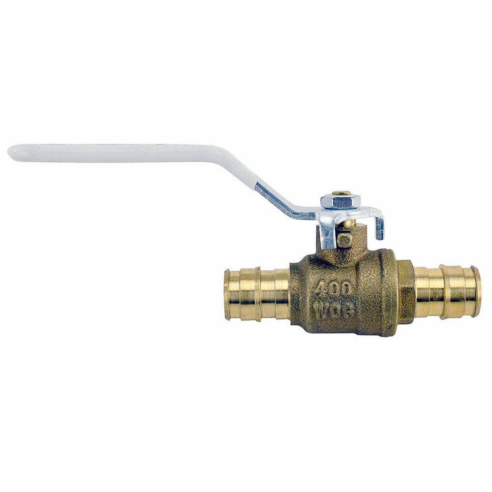 1/2 in. Brass PEX-A Expansion Barb Ball Valve