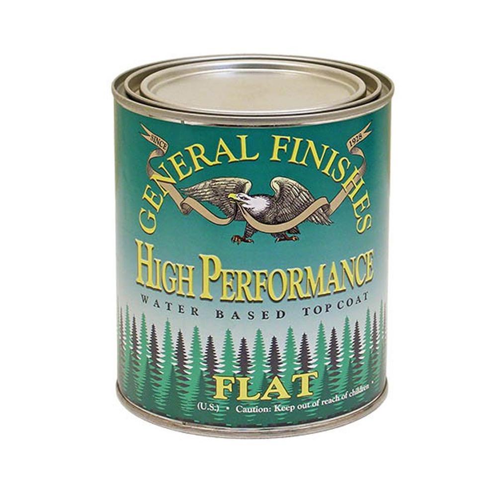 1 gal. Flat High Performance Polyurethane Interior Topcoat