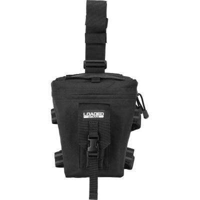 Loaded Gear 9 in. CX-300 Drop Leg Dump Pouch, Black