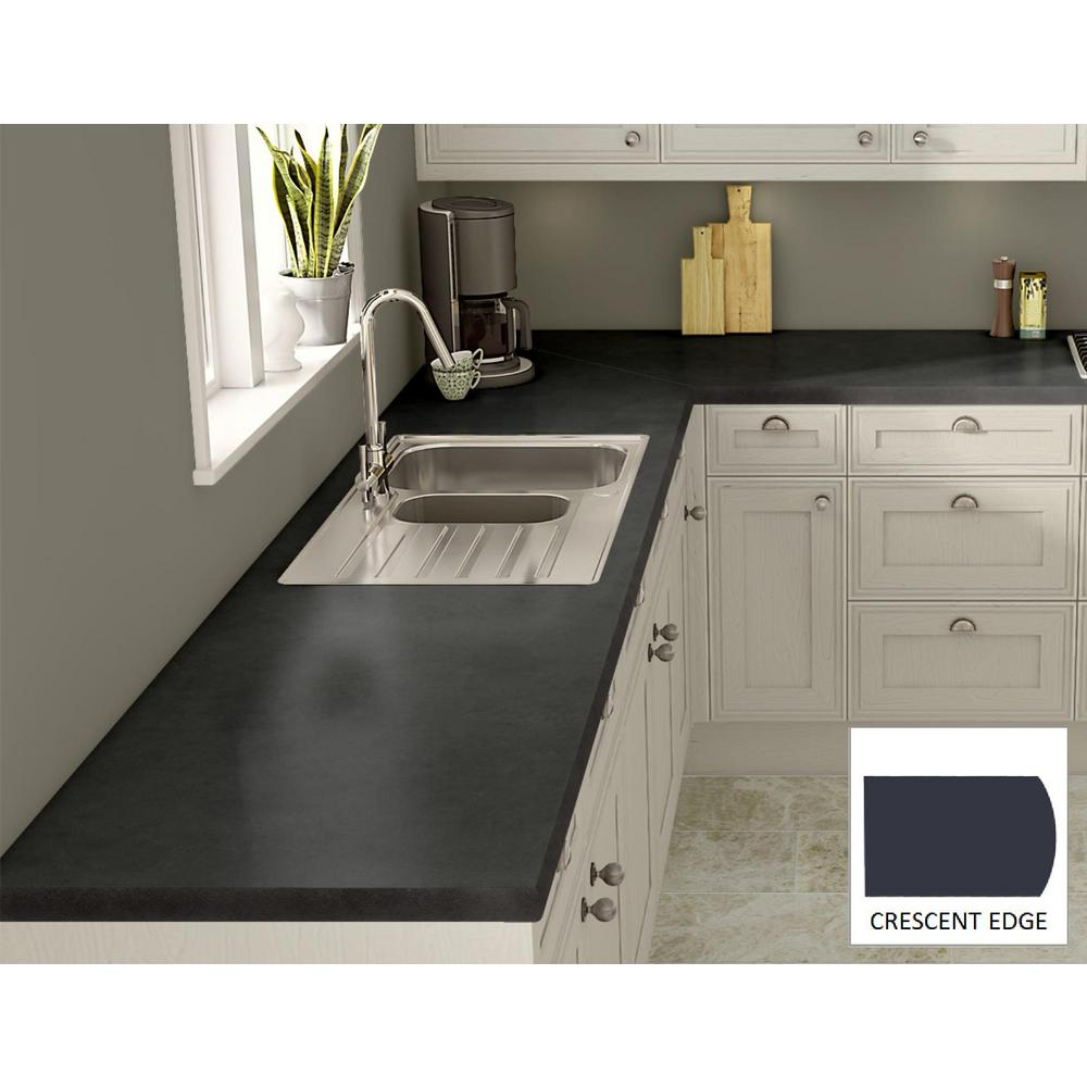 Soapstone Laminate Countertops : Wilsonart oiled soapstone laminate custom crescent edge c