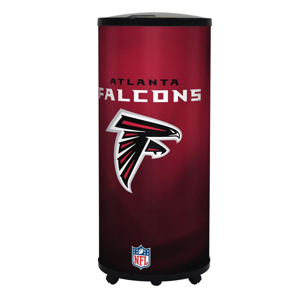 6d5da5c9 NFL 22 Qt. Atlanta Falcons Ice Barrel Cooler