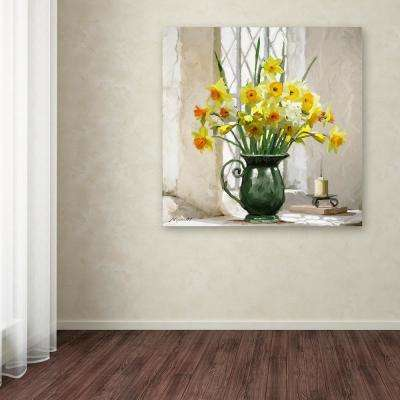 """14 in. x 14 in. """"Daffodils"""" by The Macneil Studio Printed Canvas Wall Art"""