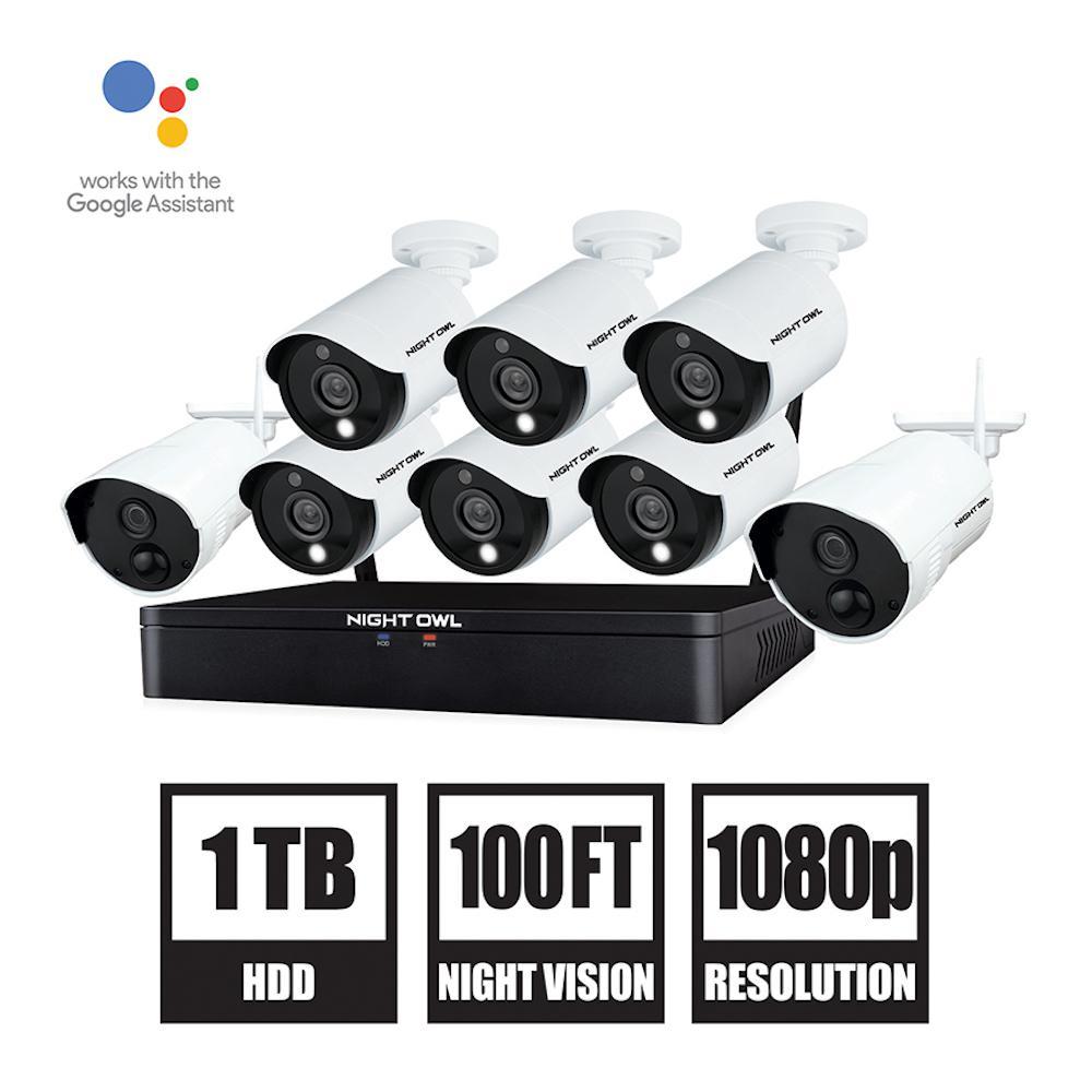 Night Owl 12 Channel 1080p Hd Hybrid Wired Wireless 1tb