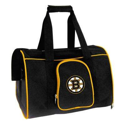 NHL Boston Bruins Pet Carrier Premium 16 in. Bag in Yellow