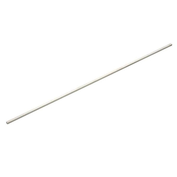 1/2 in. x 12 in. Zinc-Plated Square Bar