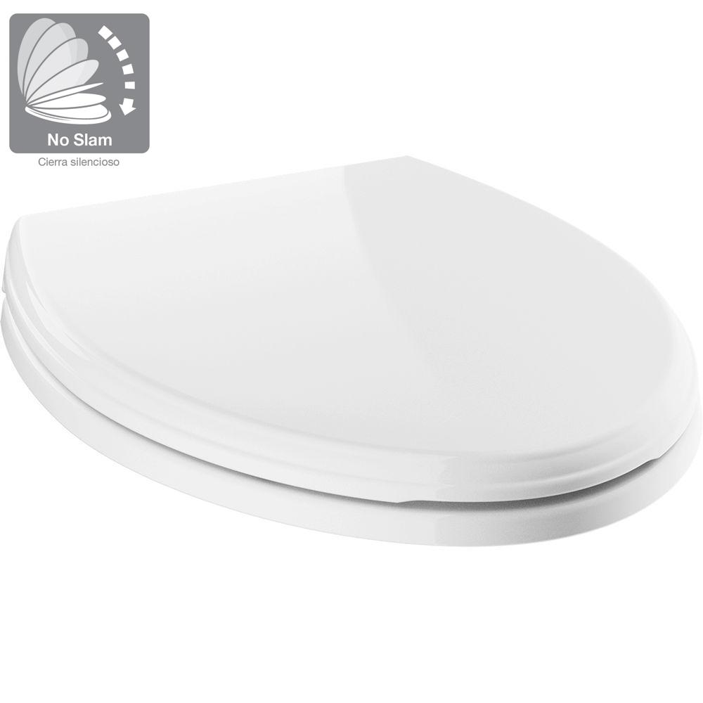 Remarkable Delta Wycliffe Slow Close Elongated Closed Front Toilet Seat With Noslip Bumpers In White Forskolin Free Trial Chair Design Images Forskolin Free Trialorg