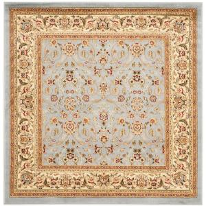 lyndhurst light blueivory 5 ft x 5 ft square area rug
