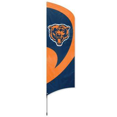 Chicago Bears Tall Team Flag