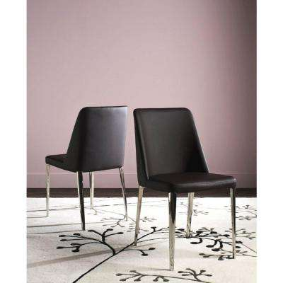 Baltic Brown Bicast Leather Dining Chair (Set of 2)