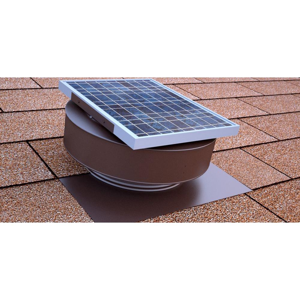 Roof Solar Powered Attic Fan Air Ventilation Mounted