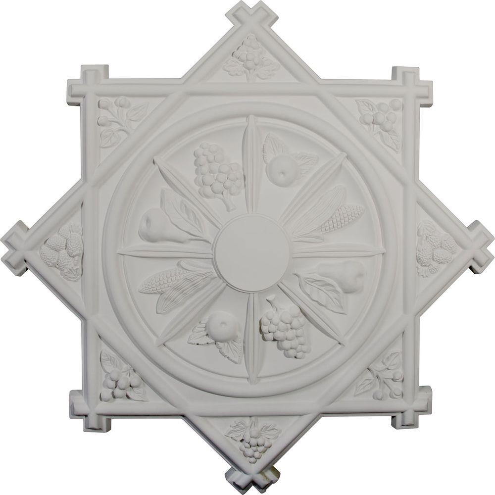 Ekena Millwork 38-1/4 in. Antilles Ceiling Medallion