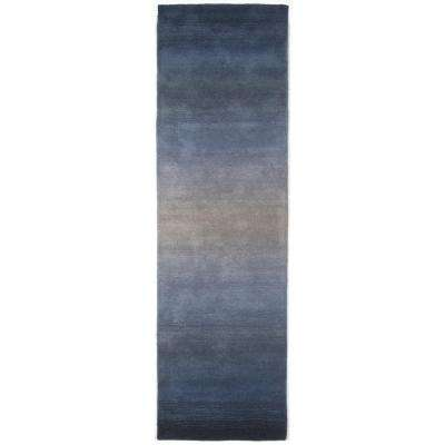 Mira Meridan Denim 2 ft. x 8 ft. Runner Rug