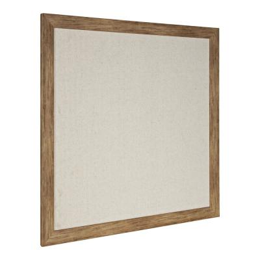 Beatrice Rustic Brown Fabric Pinboard Memo Board