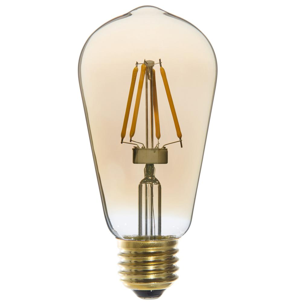 Varaluz 25w Equivalent Vintage St58 Edison Dimmable Led