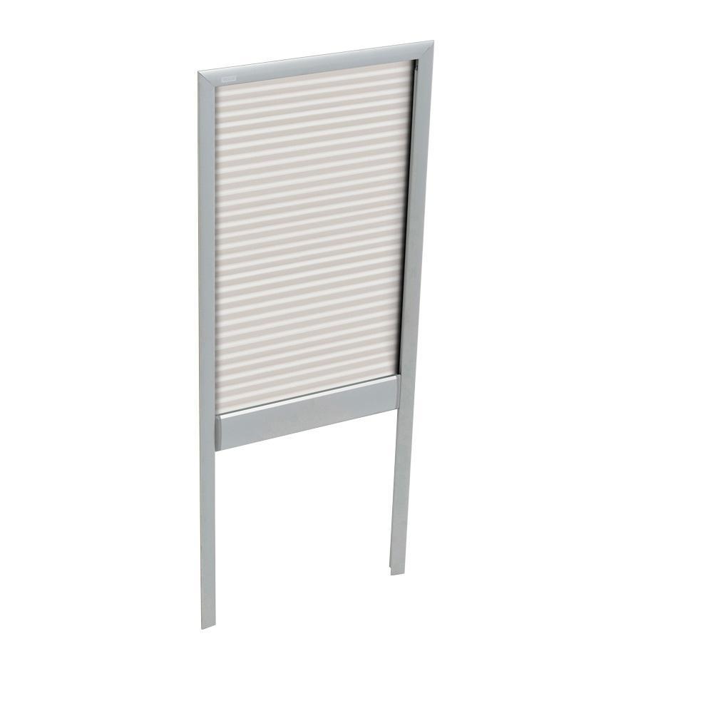 White Manual Light Filtering Skylight Blinds for GXU FK06 Models