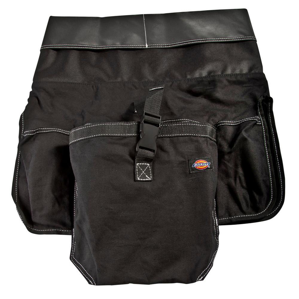12 in. 12-Pocket Tool Bucket Organizer in Black