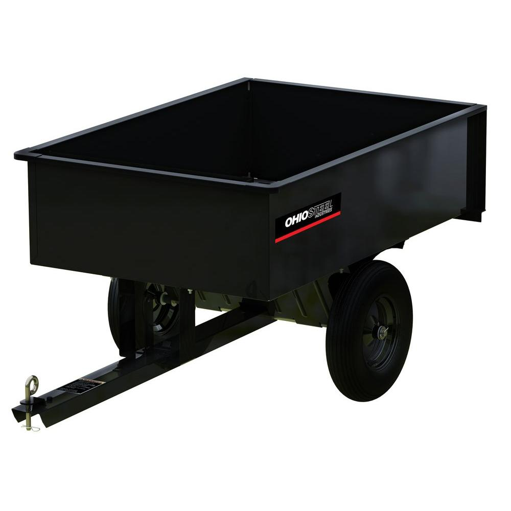12 cu. ft. 1000 lb. Capacity Welded Steel Dump Cart
