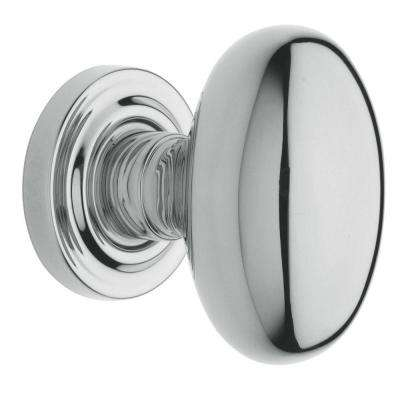Estate Polished Chrome Bed/Bath Egg Knob