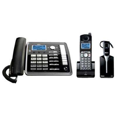 2-Line Corded/Cordless with Headset