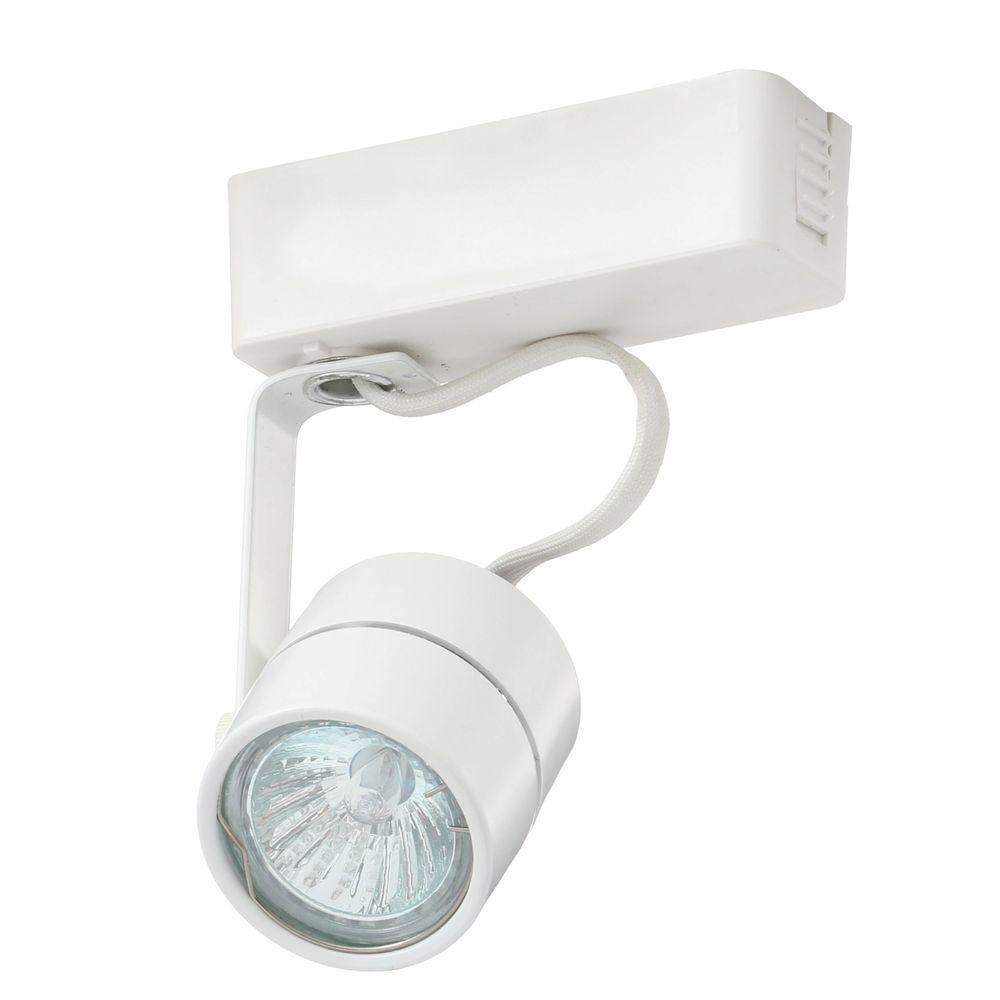 Trac-Lites Low-Voltage White Cylinder Light