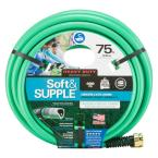 5/8 in. Dia x 75 ft. Soft and Supple Heavy Duty Water Hose
