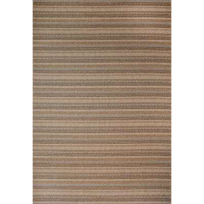 Jennings Chestnut/Black 8 ft. x 10 ft. Indoor/Outdoor Area Rug