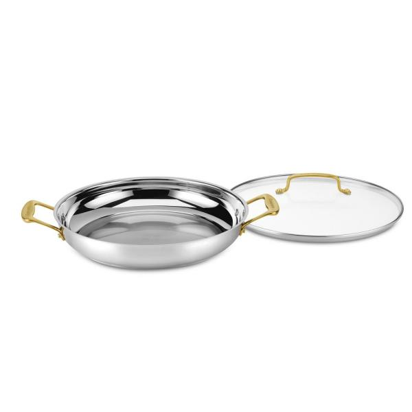 Cuisinart Minerals 12 in. Everyday Pan with Cover
