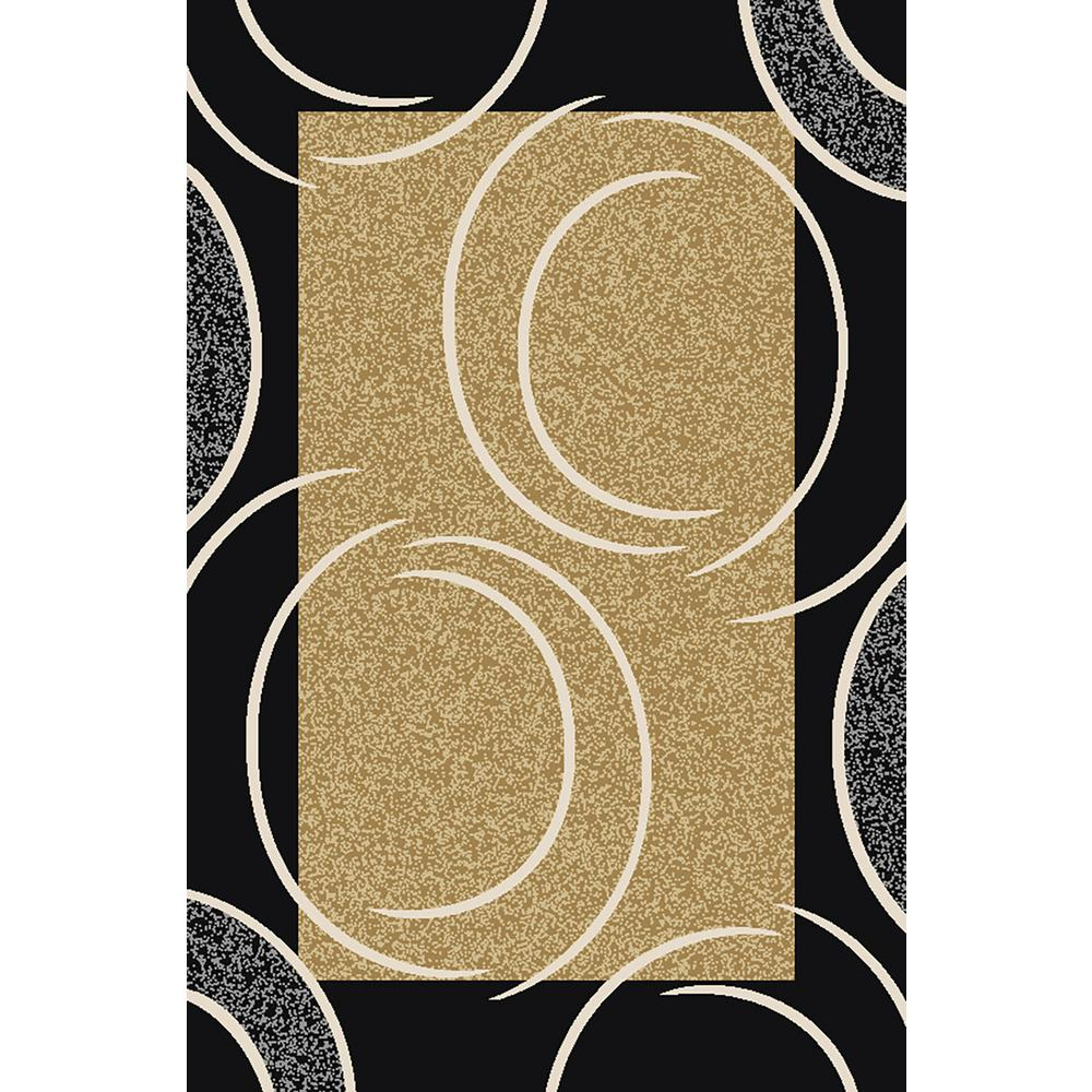 Ephes Collection Beige 5 ft. x 7 ft. Area Rug