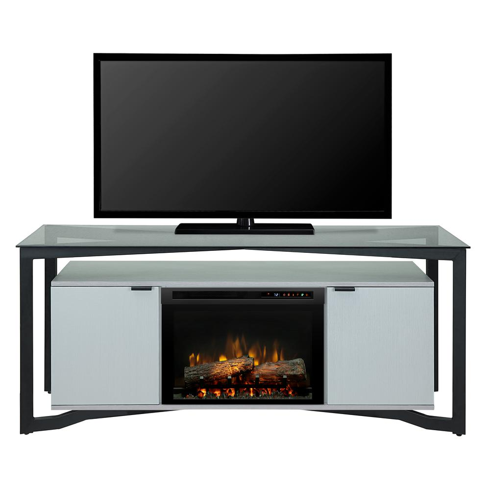 Christian 70 in. Freestanding Electric Fireplace TV Stand Media Console in