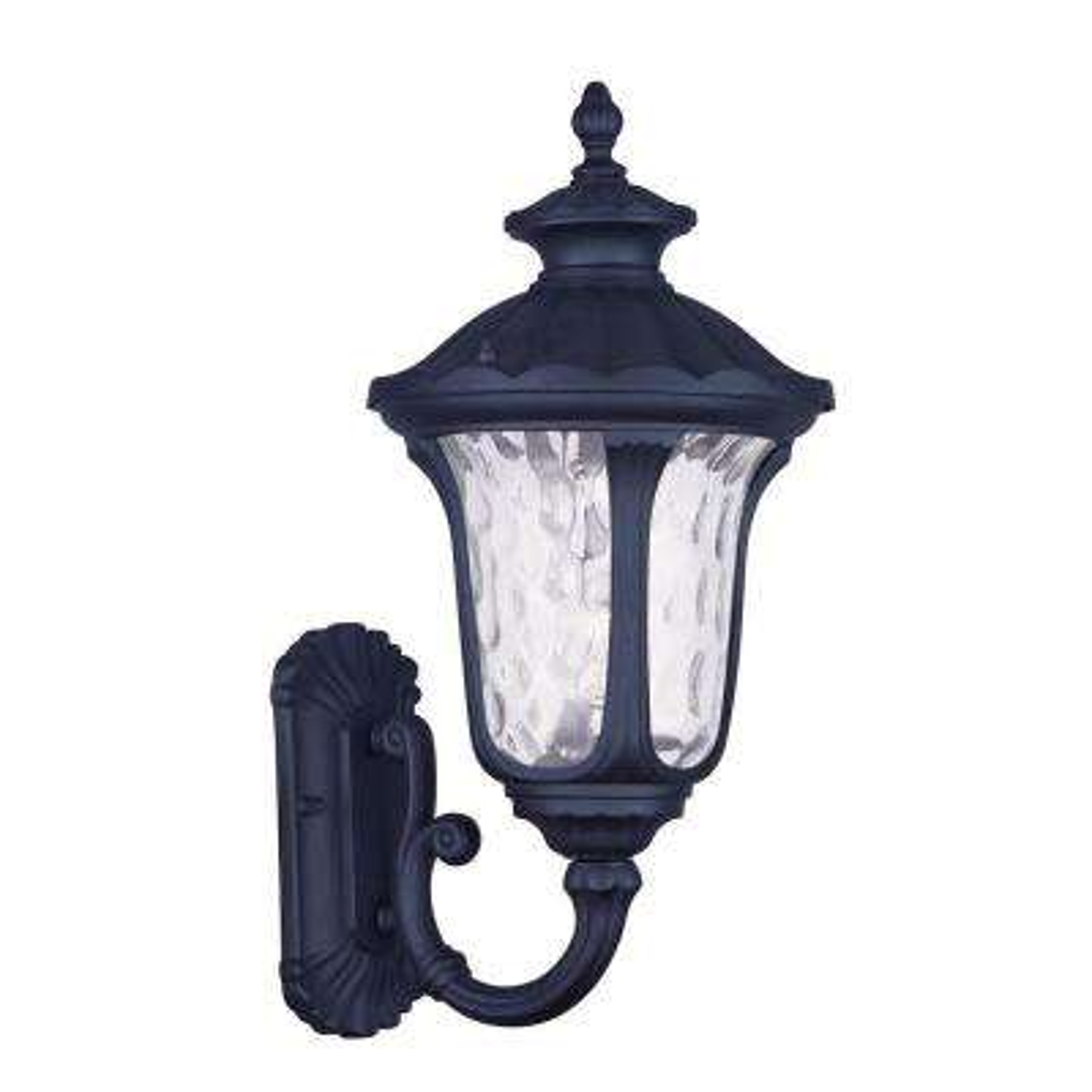 Providence 1-Light Black Outdoor Wall Lantern