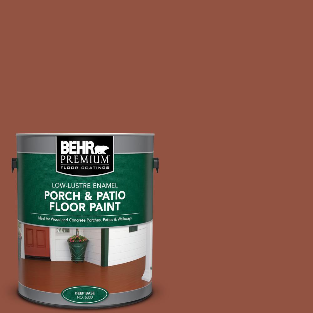1 gal. #SC-130 California Rustic Low-Lustre Enamel Interior/Exterior Porch and Patio Floor Paint