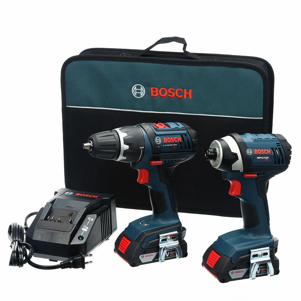 Bosch 18-Volt Lithium-Ion Cordless 1/2 in. Drill/Driver a...