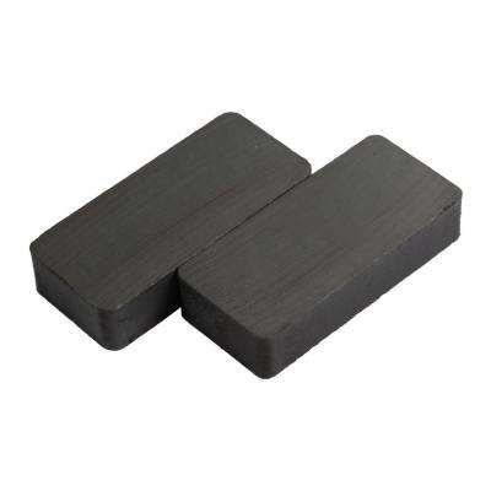 3/8 in. x 1/2 x 1-7/8 in. Heavy-Duty Block Magnet (2 per Pack)