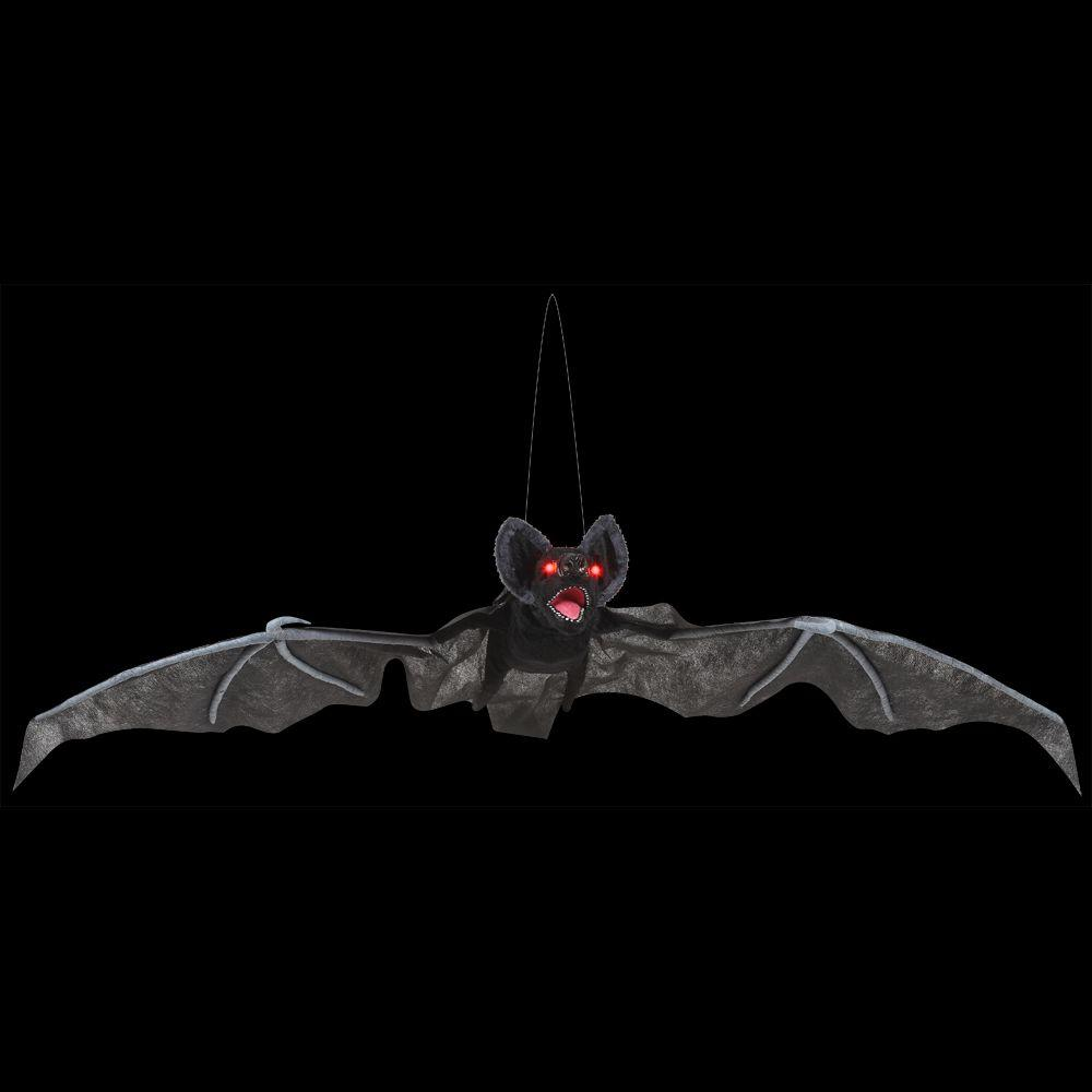 Home accents holiday in animated flying bat 71357 for Animated flying bat decoration
