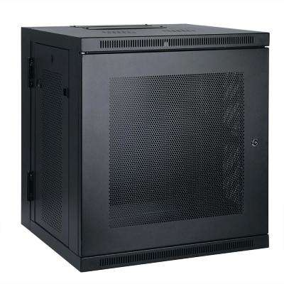 10U Wall Mount Rack Enclosure Cabinet Hinged Wallmount