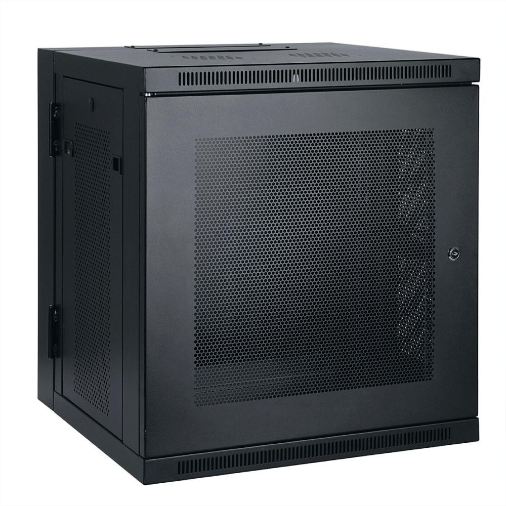 Tripp Lite 10U Wall Mount Rack Enclosure Cabinet Hinged Wallmount
