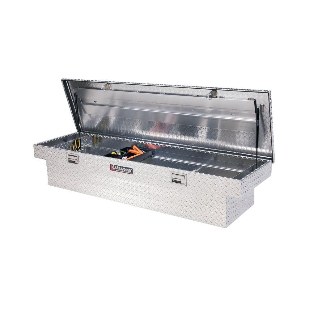 70 in. Full Size Extra-Deep Aluminum Tool Box