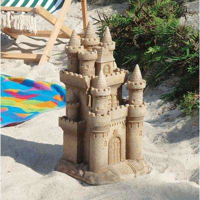 19.5 in. H Castle By the Sea Sculpture