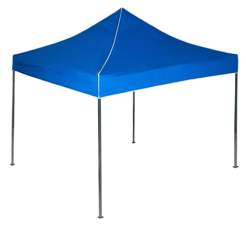 Stalwart 10 ft x 10 ft canopy tent in blue 80 14 b the for How to create a canopy