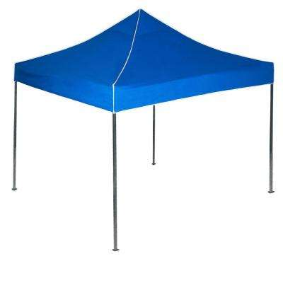 10 ft. x 10 ft. Canopy Tent in Blue